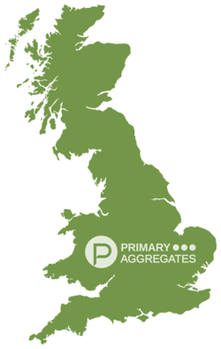 Primary Aggregates UK Map